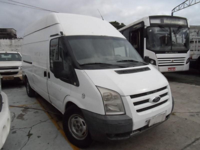 I/FORD TRANSIT 350L TA; 2011/2011; BRANCA; DIESEL - FUNCIONANDO