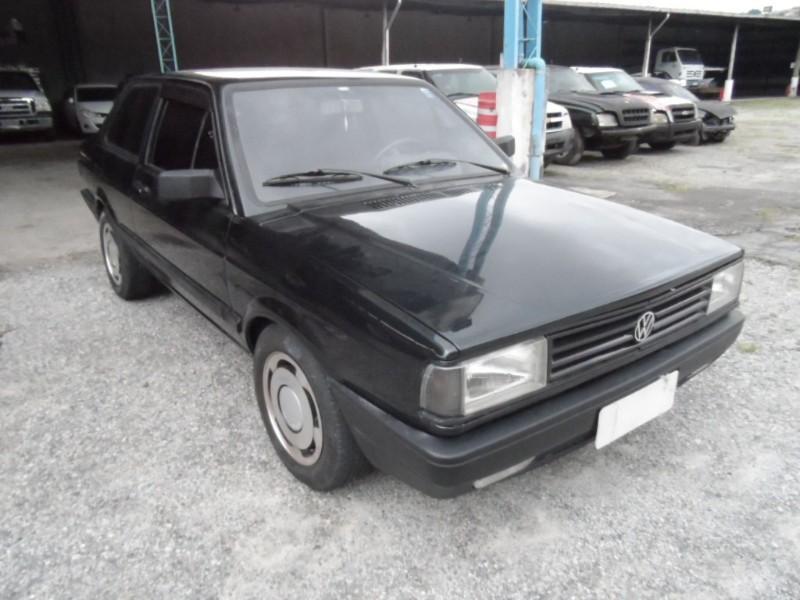 VW/VOYAGE GL; 1987/1988; VERDE; ALCOOL - FUNCIONANDO