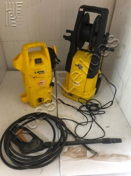 2 lavadoras de alta pressão