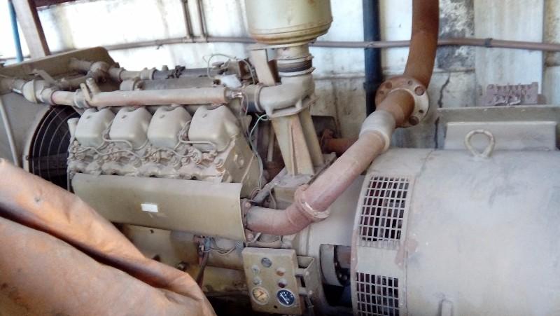GERADOR MARCA TOSHIBA 110 KVA BS COM MOTOR MWM 8CC