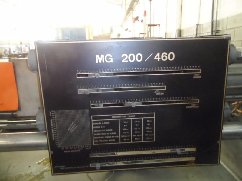 INJETORA MG 200/460, FUNCIONADO