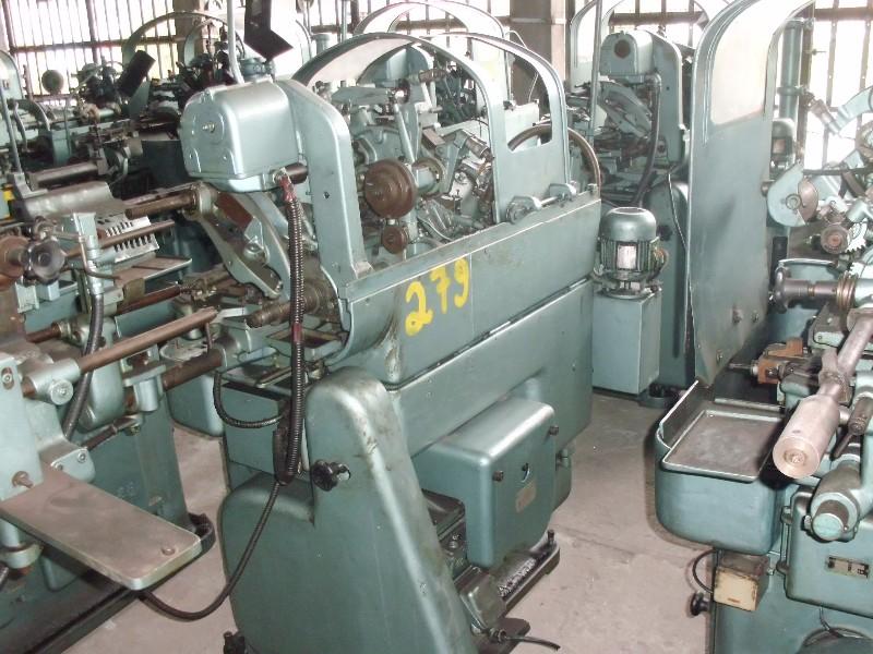 Torno Automático Traub Bechler AR 10 para peças,  codigo pateo 279  , local de visitação e retirada São Paulo - SP