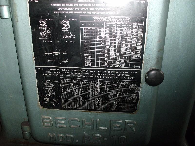 Torno Automático Traub Bechler AR 10,  codigo pateo 286  , local de visitação e retirada São Paulo - SP