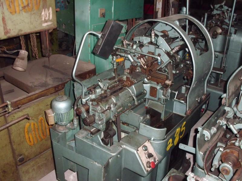 Torno Automático Traub Bechler AR 10,  codigo pateo 285  , local de visitação e retirada São Paulo - SP