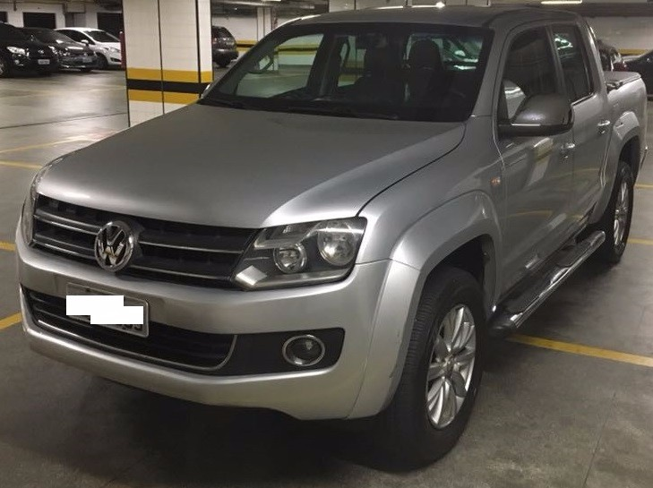 I/VW AMAROK CD 4X4 HIGH CAB, DUPLA DIESEL, ANO/MOD 2010/2011 BLINDADA
