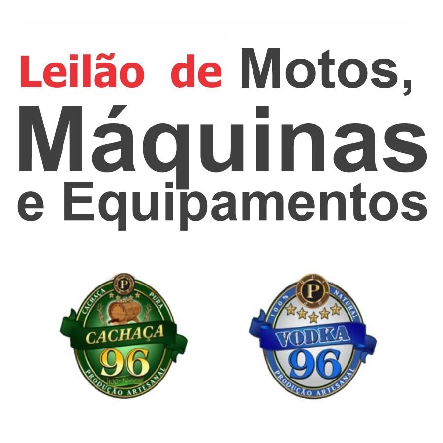 Ourinhos: Motocicletas (customizada e relíquia), lote de equip. para Câmara Fria e mais