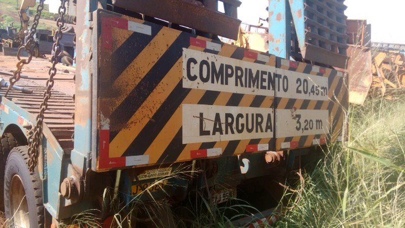 R/RANDON SR CT PRANCHA  2 EIXOS, ANO 2010/2011, FR96887, UND BARRA