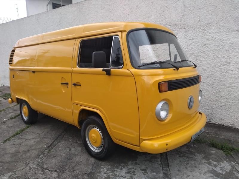 VW; KOMBI FURGÃO; 1998/1998; AMARELA; GASOLINA