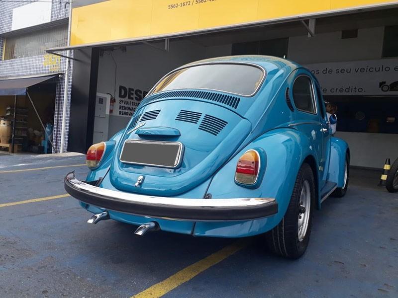 CLASSICO AIRCOOLED - VW; FUSCA 1500; 1975/1975; AZUL; GASOLINA