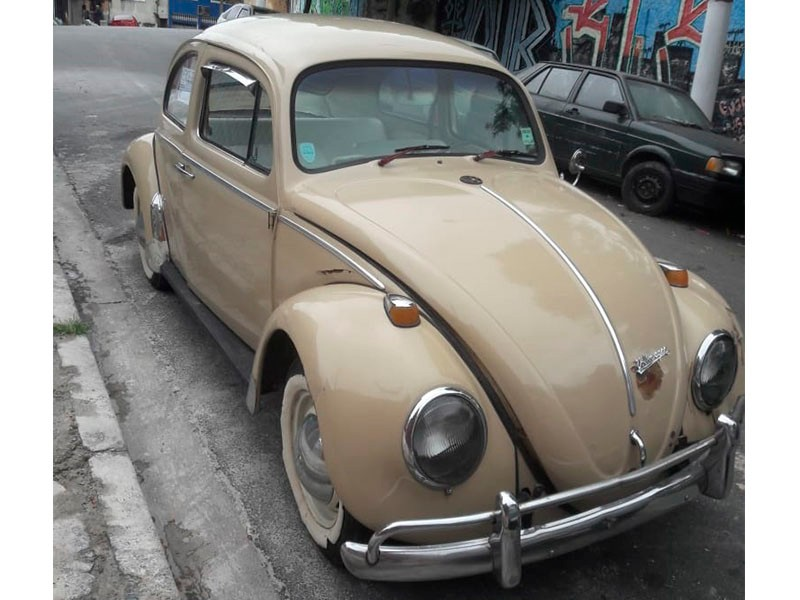 CLASSICO AIRCOOLED - VW; FUSCA 1300; 1970/1970; BEGE; GASOLINA