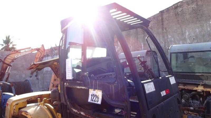 EMPILHADEIRA À COMBUSTÃO DIESEL, YALE, MOD.GP155VX , ANO 2009, SERIE D878V01567F