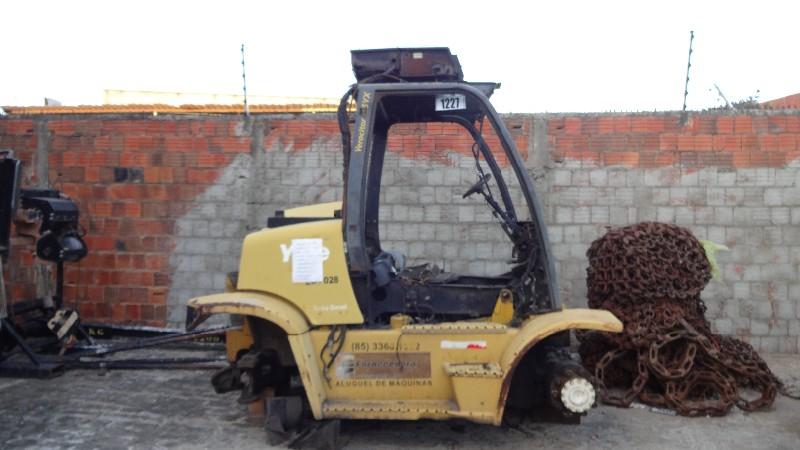 EMPILHADEIRA À COMBUSTÃO DIESEL, YALE, MOD. GP155VX , ANO 2009, SERIE D878V01591F