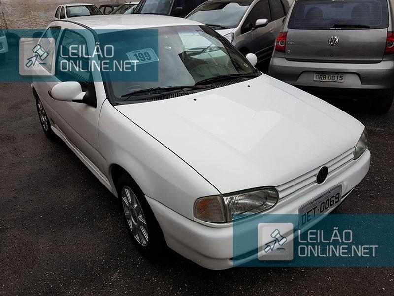 VW; GOL 1.6 MI, ANO/MOD 1997/1997, BRANCA, GASOLINA