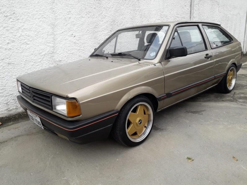 VW; GOL CL; 1989/1989; MARROM; ALCOOL;