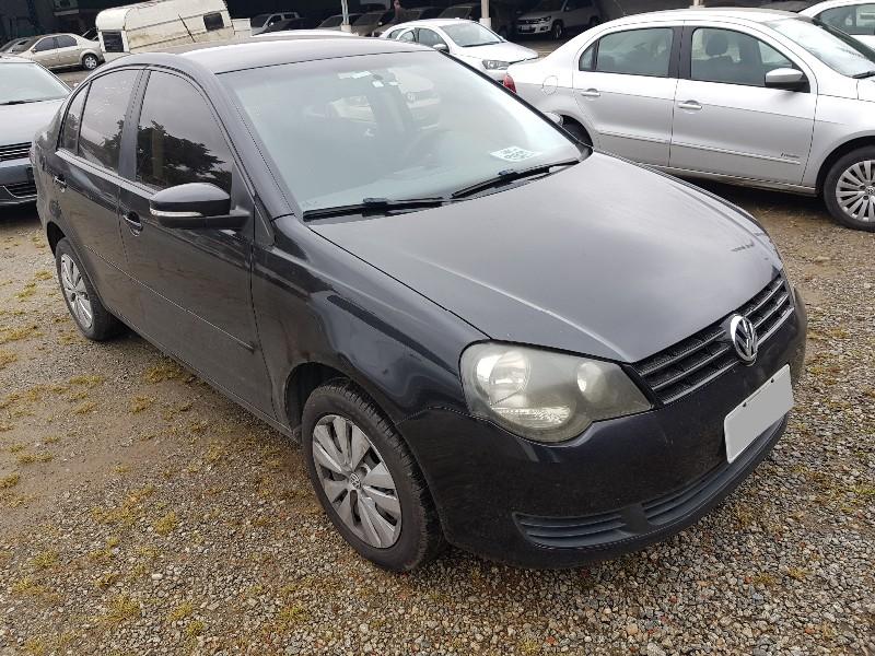 VW/ POLO SEDAN 1.6; 2013/2014; PRETA; ALCO./GASOL