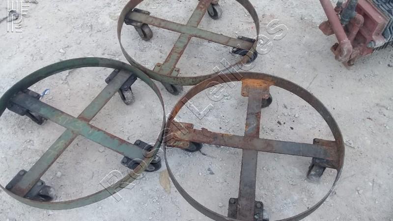 3 carrinhos para tambor
