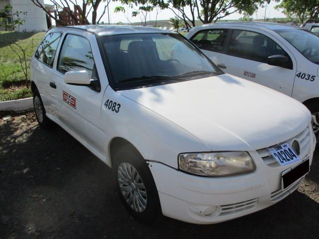 VW/GOL 1.0 GIV, ANO/MOD 2010/2011 - Frota 4083 - Loc.: Tapejara/ PR