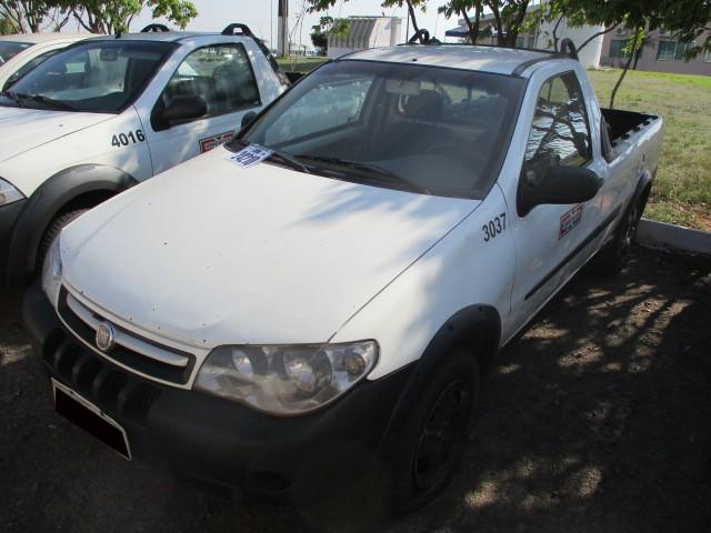 FIAT/STRADA FIRE, FLEX, ANO 2012 - Frota 3037 - Loc. Tapejara/ PR