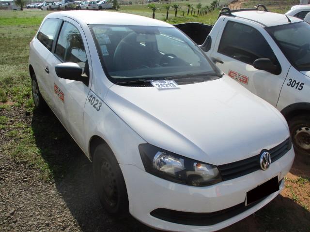 VW/NOVO GOL 1.0, FLEX, ANO 2014 - Frota 4023 - Loc. Tapejara/ PR