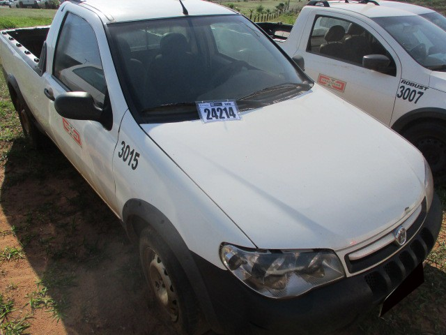 FIAT/STRADA FIRE, FLEX, ANO/MOD 2011/2012 - Frota 3015 - Loc. Tapejara/ PR