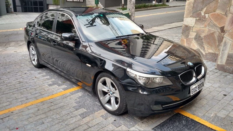 I; BMW, 530I NU91; 2008/2009; PRETA; GASOLINA; FUNCIONANDO
